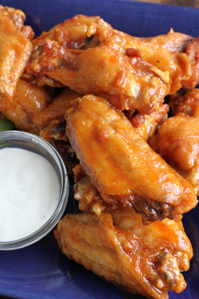 Sweet & Spicy Hot Wings from Brittany's Pantry