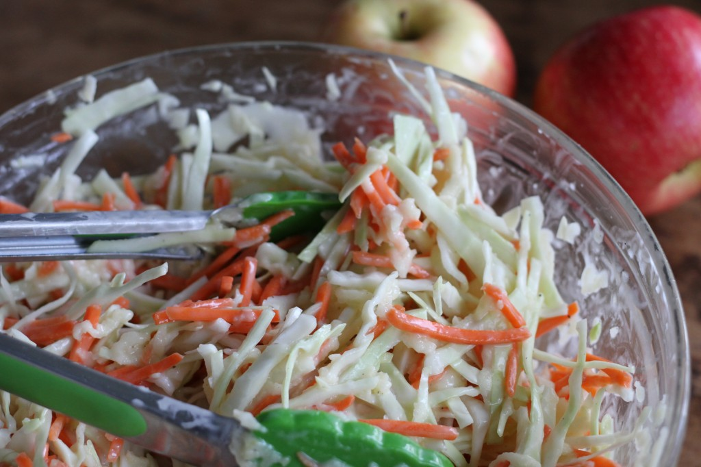 Sour Apple Coleslaw