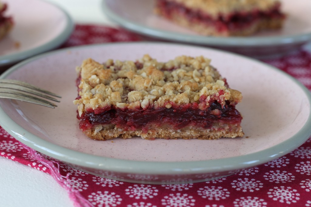 Cranberry Apple Butter Bars