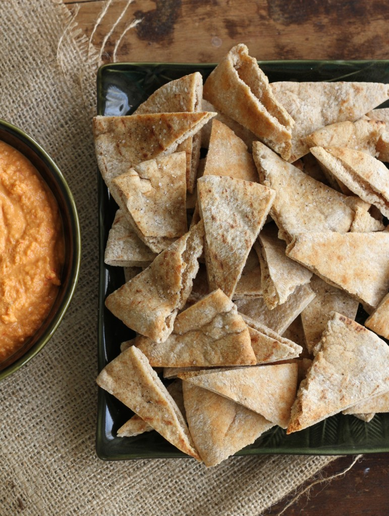 Quick & Easy Pita Chips - Brittany's Pantry : Brittany's Pantry