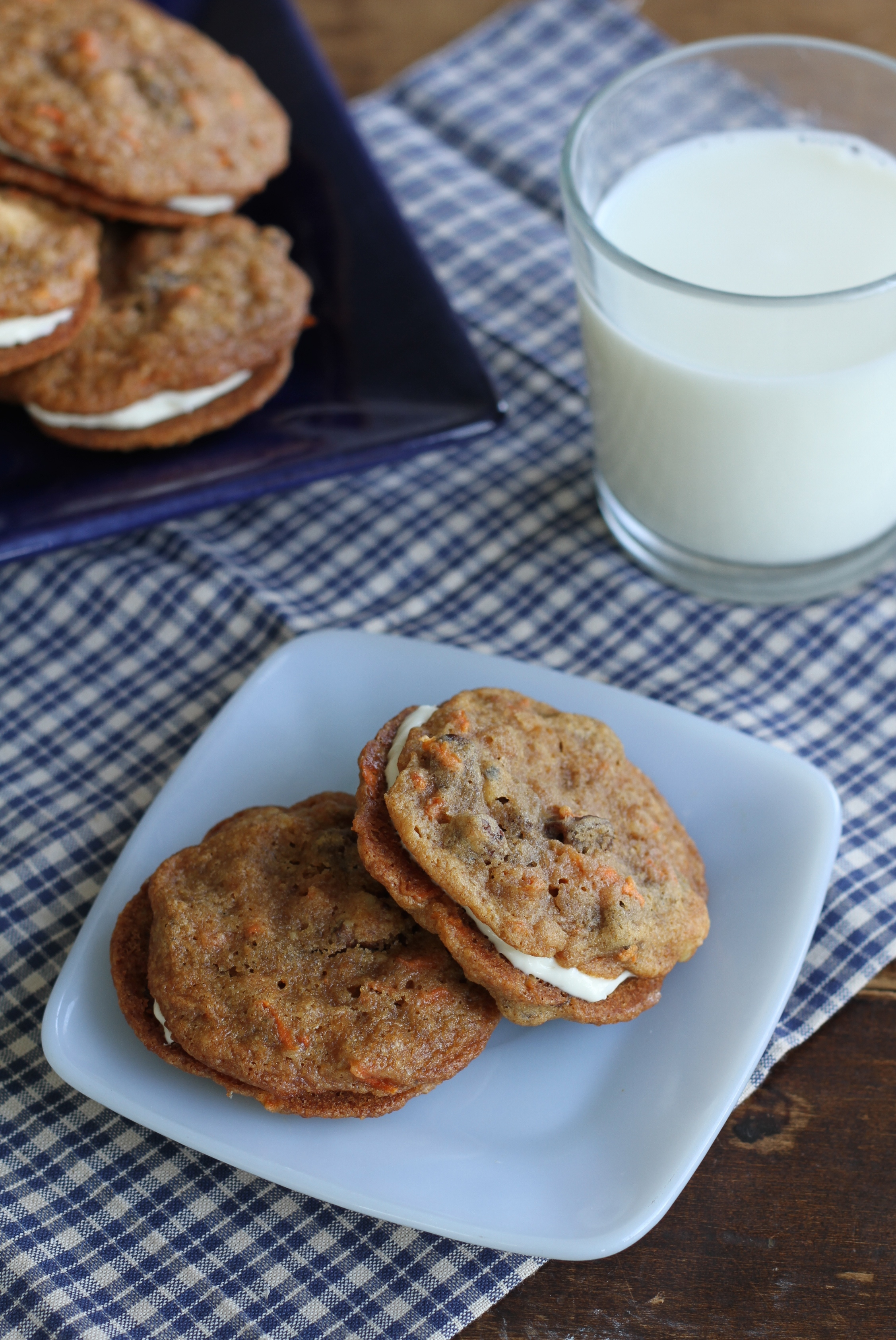Inside-Out Carrot Cake Cookies : Brittany's Pantry