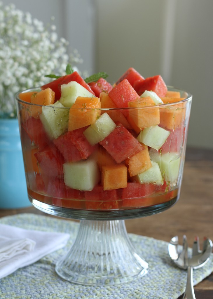 Melon Salad W/Honey & Lime