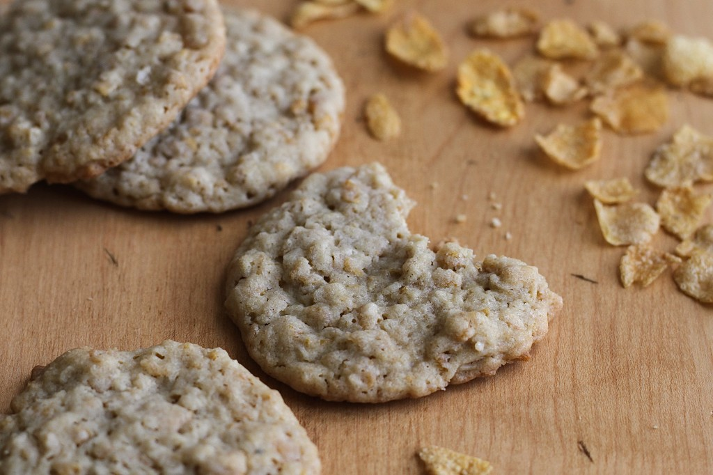 Cornflake Cookies are a perfectly crunchy treat! {Brittany's Pantry}