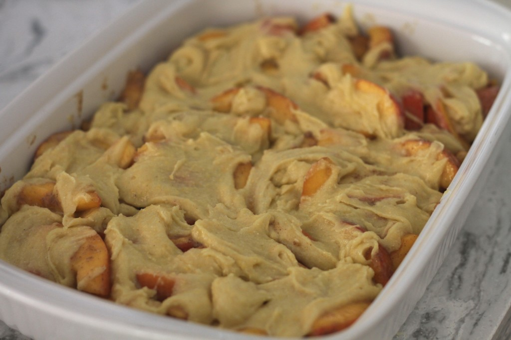 The Best Peach Cobbler Ever! The only kind I make anymore! {Brittany's Pantry}