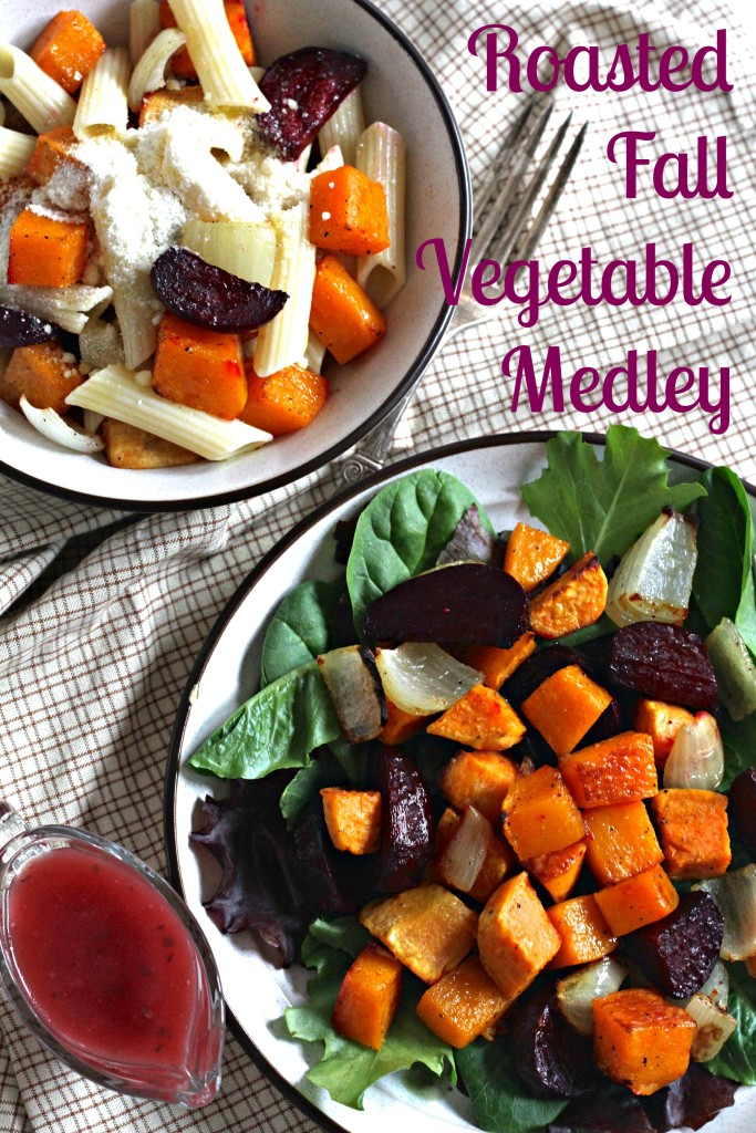These Roasted Fall Vegetables are a great side dish! Here are TWO additional ways to enjoy them! {Brittany's Pantry}
